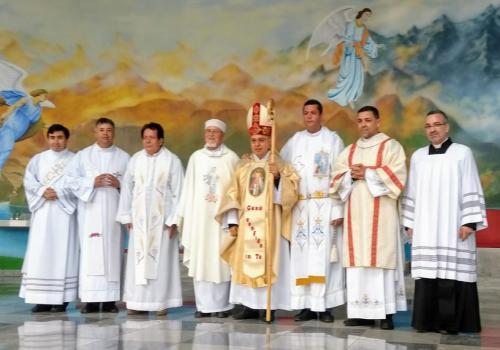 Santa Missa de Sagração Santuário de Nossa Senhora Rainha da Paz